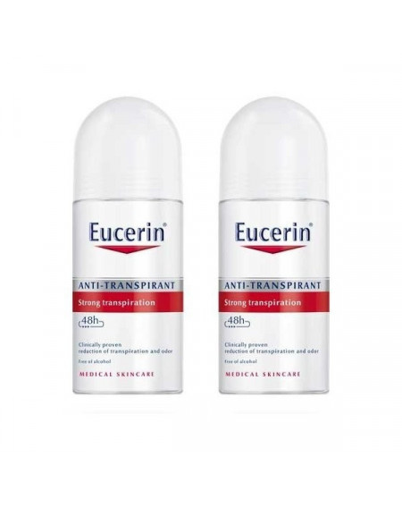 EUCERIN DESODORANTE ROLL-ON 50ML DUPLO