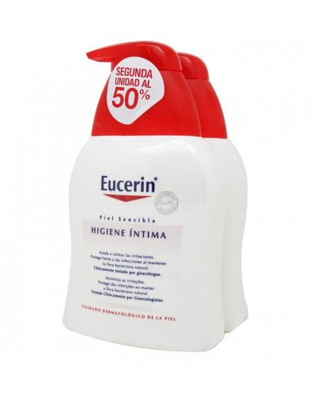 EUCERIN HIGIENE INTIMA 250ML DUPLO