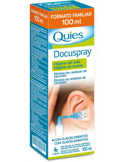 QUIES DOCUSPRAY OIDO 100ML