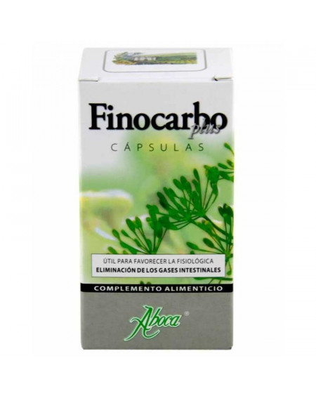 ABOCA FINOCARBO PLUS 500MG 50 CAPSULAS