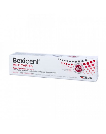 BEXIDENT PASTA DE DIENTES ANTICARIES 125ML