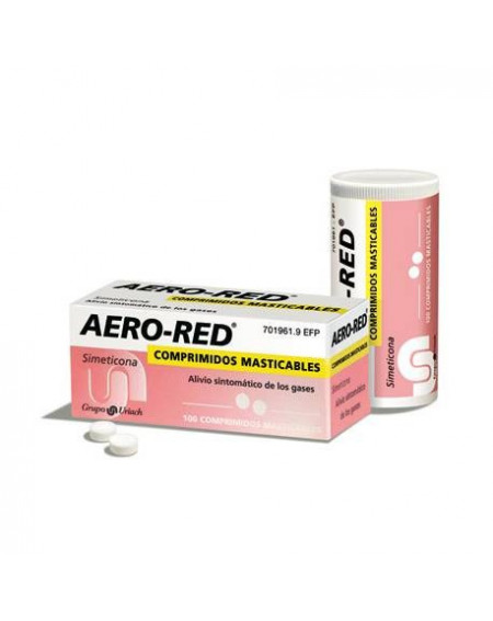 AERO-RED 40MG 100 COMPRIMIDOS MASTICABLES