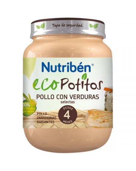 NUTRIBEN ECOPOTITO POLLO CON VERDURAS 130G