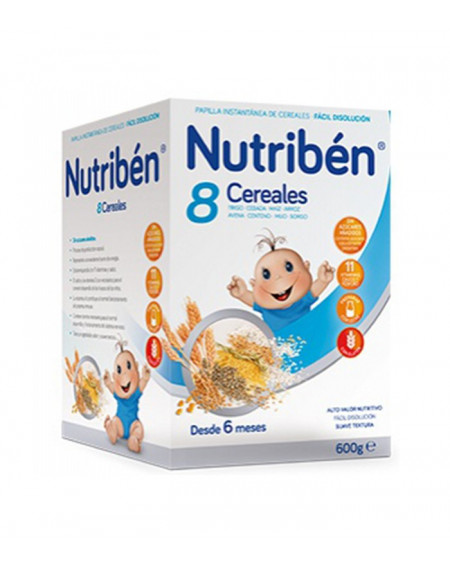NUTRIBEN PAPILLA 8 CEREALES 600G